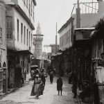 People in street near Bab Sharqi