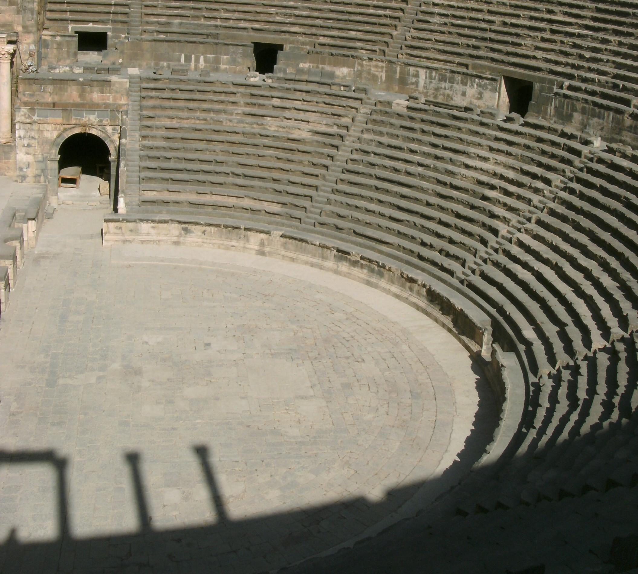 Roman amphitheatre at Bosra