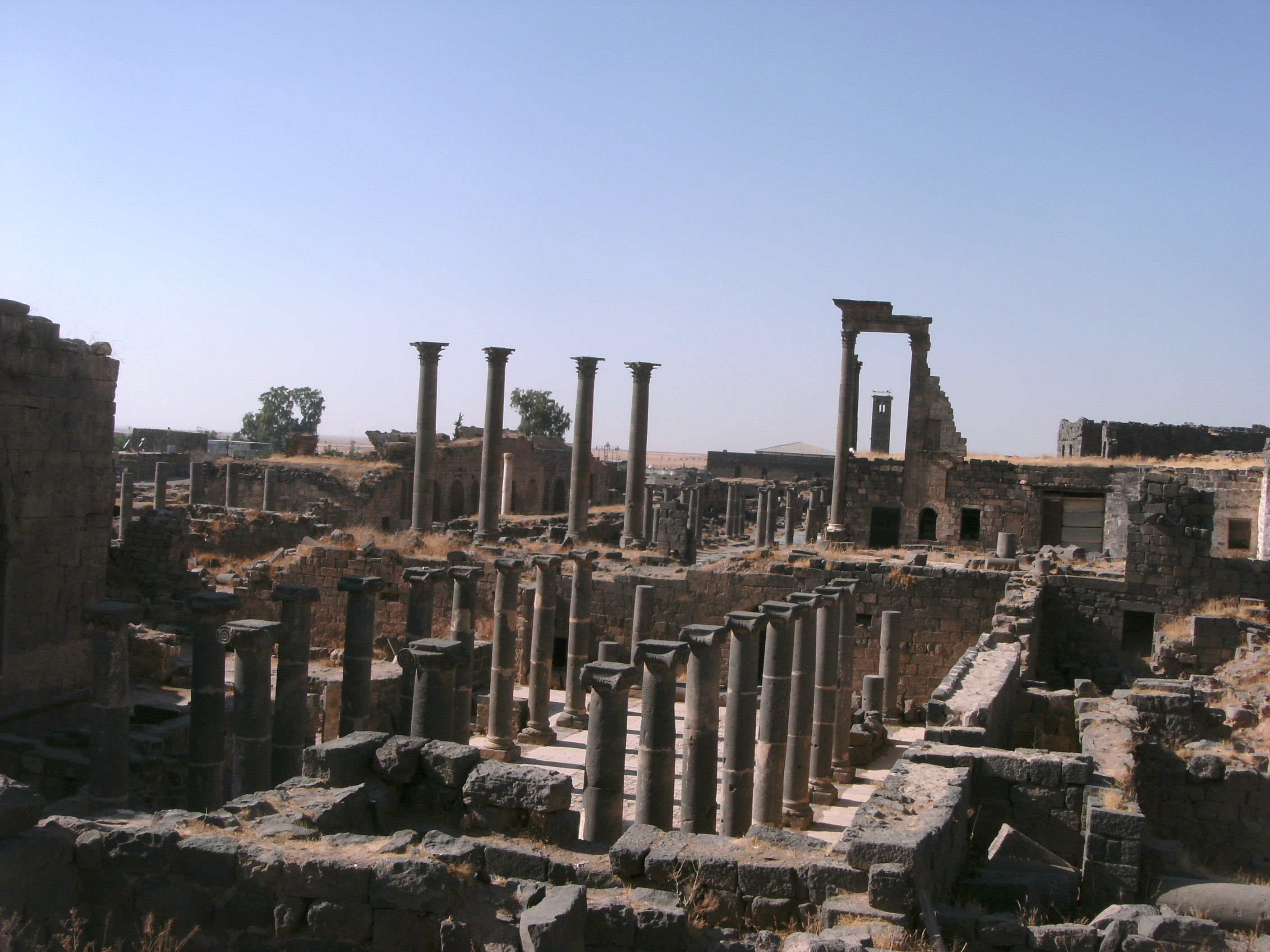 Roman ruins at Bosra