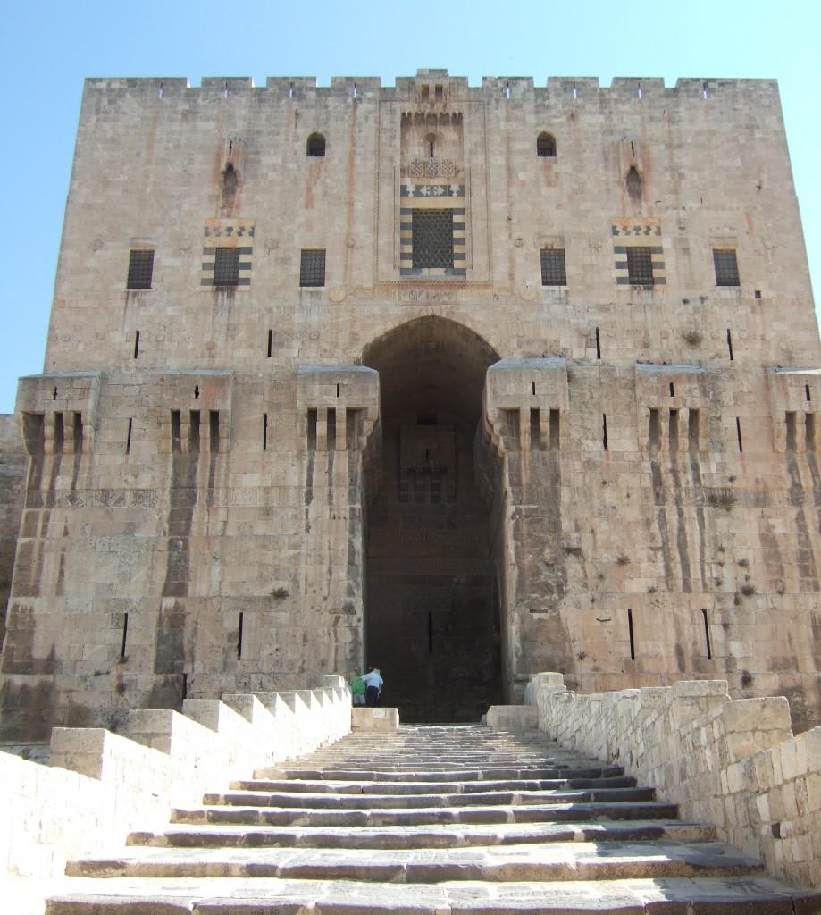 Aleppo's citadel DSCF8686