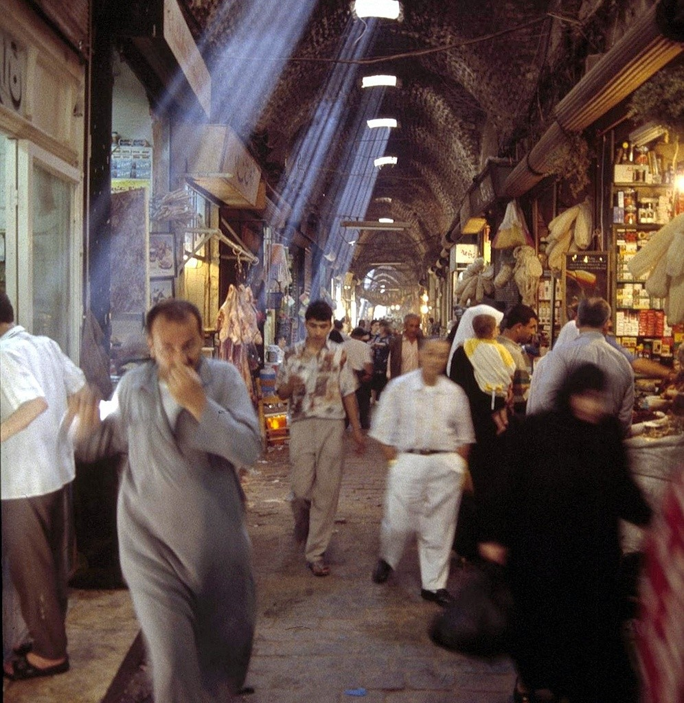 Aleppo souq by Fulvio Spado via Creative Commons