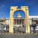 Arch replica in Trafalgar Square