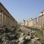 Roman ruins of Syrian city of Apamea