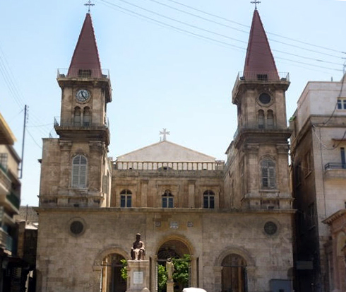 Maronite church in Aleppo
