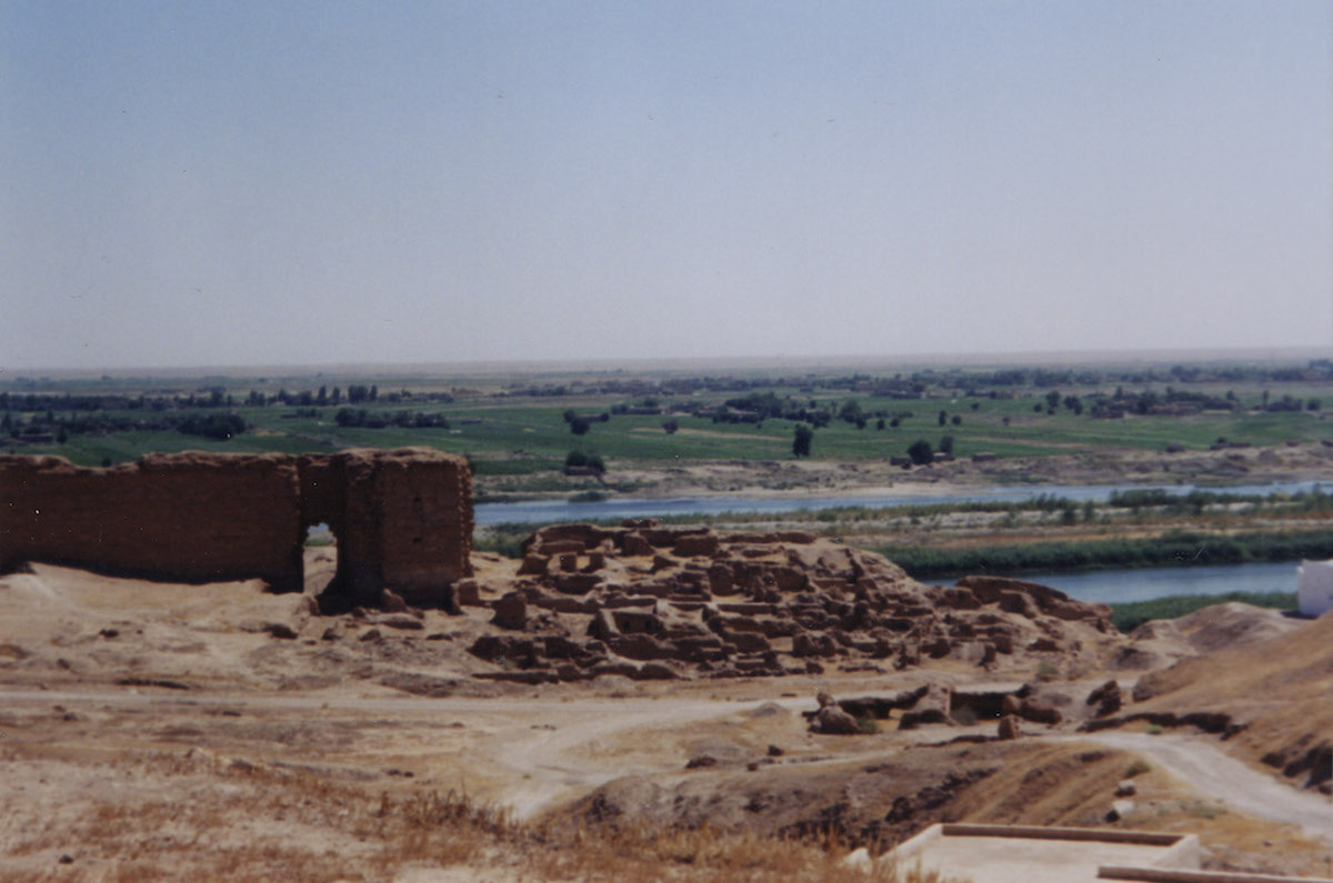 River Euphrates at Dura Europos