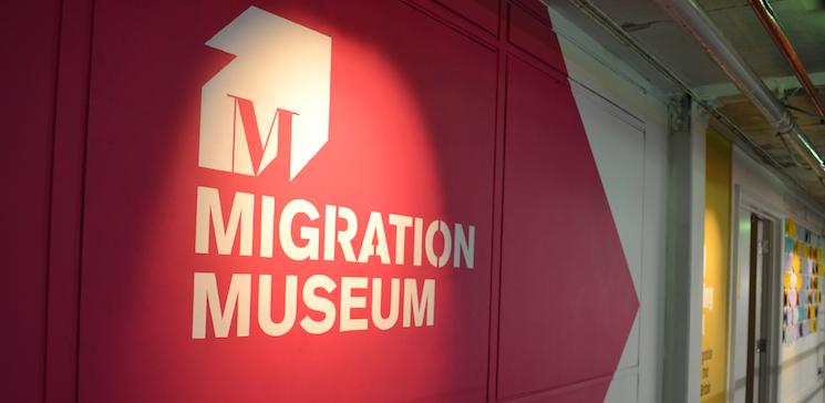 Migration museum logo.