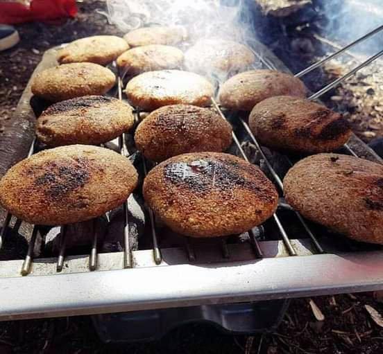 Syrian dish Grilled Kibbeh Sawsan Bouta